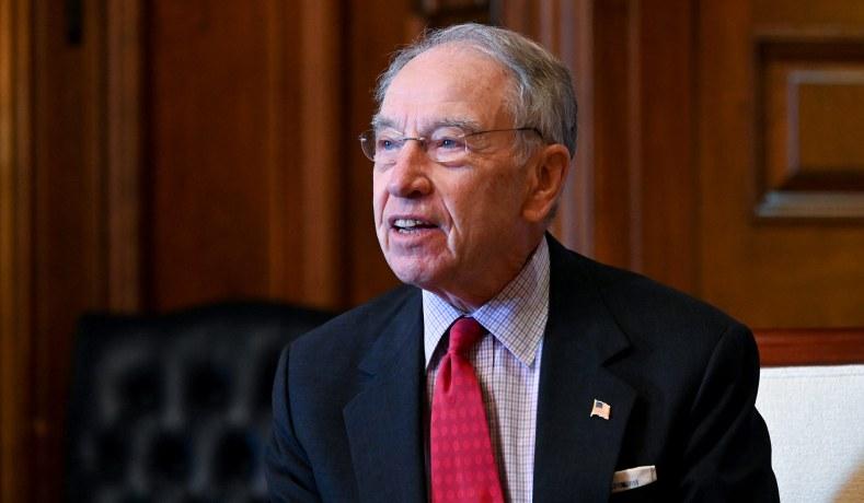 Iowa Senator Chuck Grassley Tests Positive for Coronavirus