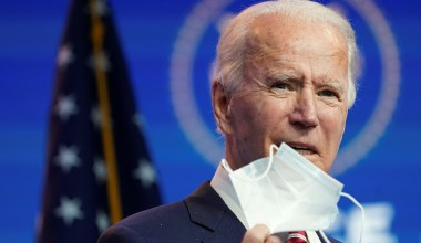 Biden Mocks Texas, Mississippi for Lifting Mask Mandates: 'Neanderthal Thinking'