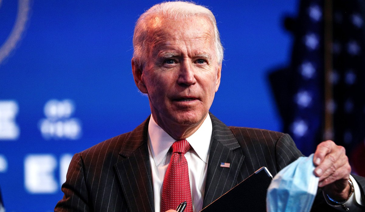 Coronavirus: Joe Biden Discussed 'National Mask Mandate ...