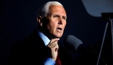 Pence Criticizes Biden's 'Open Borders, Runaway Spending' in His First Speech Since Leaving Office