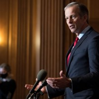Murkowski's Vote on Tanden Confirmation is 'Fluid,' Thune Says