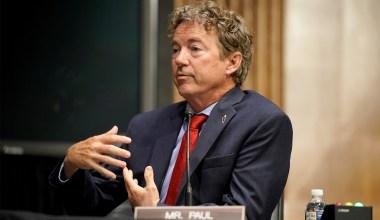 Rand Paul Says Trump Impeachment 'Dead on Arrival' in Senate
