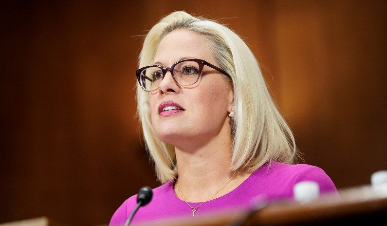 Sinema Calls on Senators to 'Change Their Behavior' Instead of Eliminating Filibuster