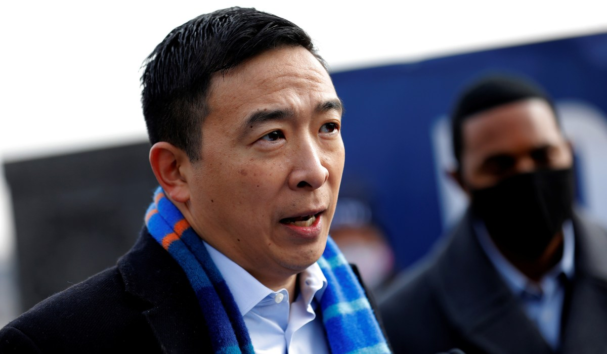 Andrew Yang Criticizes 'Defund The Police' after NYC Shooting | National Review