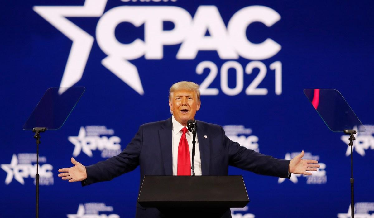 Trump Wins CPAC Straw Poll, DeSantis Runner-Up