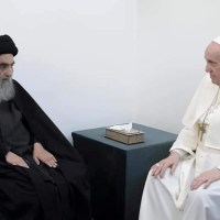 Pope Francis Meets Top Shiite Cleric during Landmark Visit to Iraq