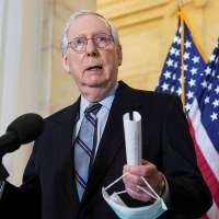 McConnell Dodges Question on Trump's Profanity Filled Mar-a-Lago Speech
