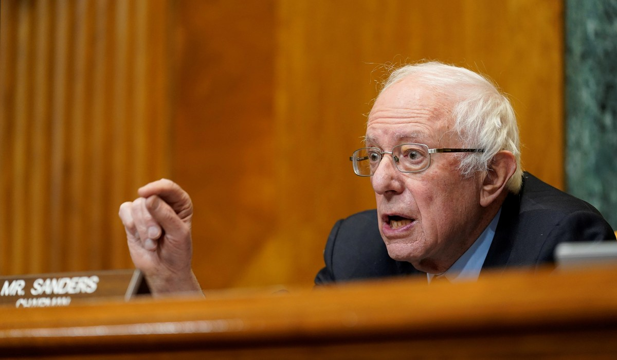 Sanders Urges Biden to Abandon Infrastructure Negotiations, Proceed without GOP Support | National Review