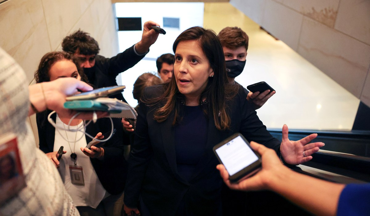 House GOP Votes Stefanik into Cheney's Former Leadership Role   National Review