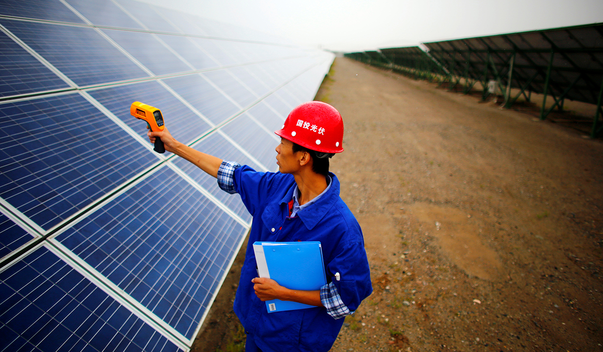 Solar Energy Industry Supplied by China's Forced Labor