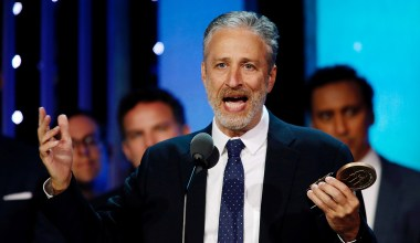 Jon Stewart's Howard Beale Moment Is a Watershed for the Lab-Leak Theory