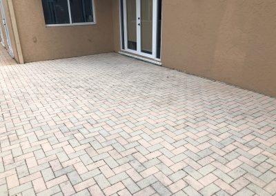 coloring brick pavers staining brick