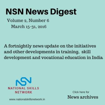 Skill development news India- March02-2016