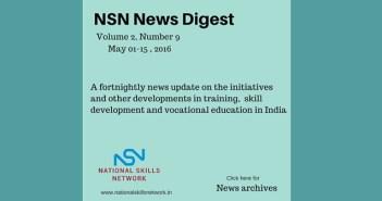 Skill Development News India May152016