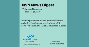 Skill development news India June -02- 2016