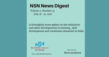 skill development news India July 31 2016