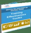Training effectiveness toolkit