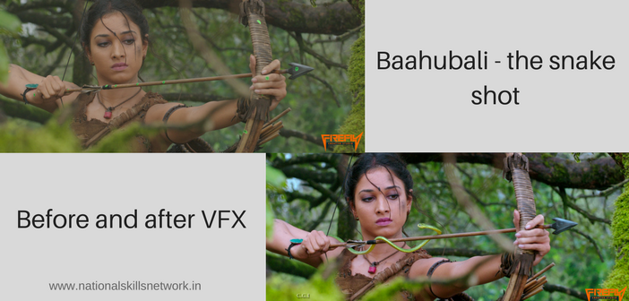 Baahubali - the snake shot