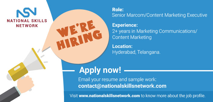 Marcom content marketing job