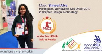 Simoul Alva WorldSkills participant