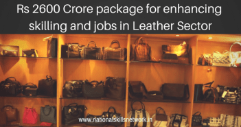skill development leather sector