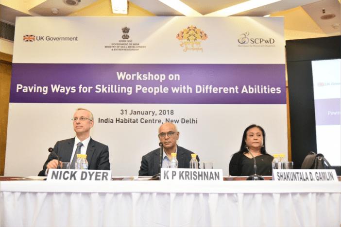 DFID ScPwD workshop on skills
