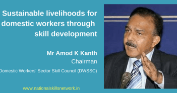 Skill Development of Domestic Workersfor sustainable livelihoods