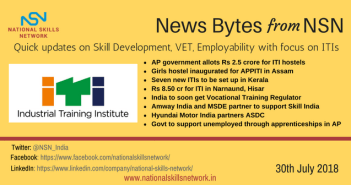 skill development news bytes 30th July 2018
