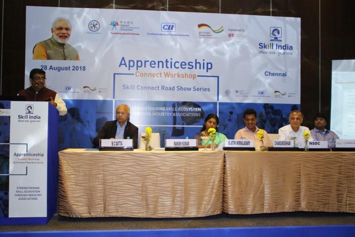 CII GIZ NSDC apprenticeships Chennai