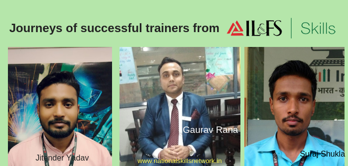Trainers from IL&FS Skills
