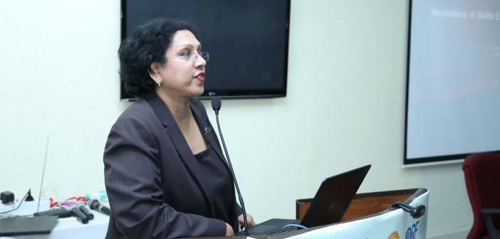 Sandhya Chintala TISS Skill India Seminar