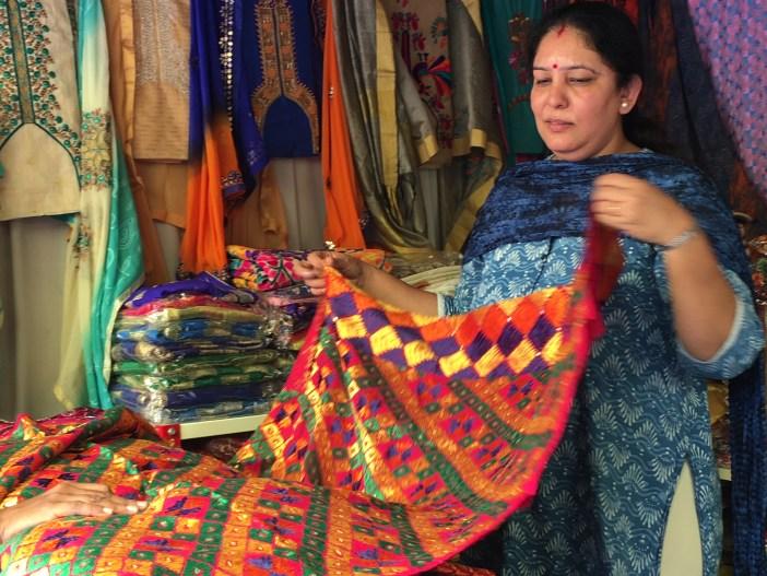 Phulkari stall Shilparamam