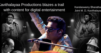 Kavithalayaa Productions digital entertainment