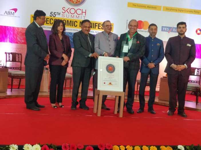 DWSSC Skoch award skill development