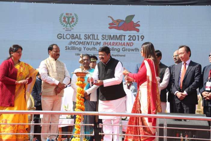 Jharkhand skills summit 2019