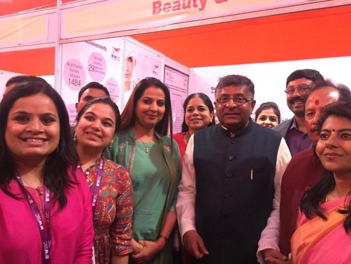Beauty Sector Skill Exhibition- Patna (5)