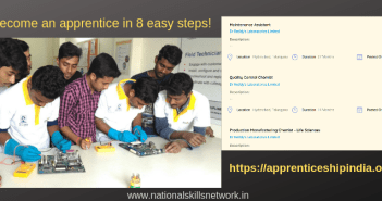 Become an apprentice in 8 easy steps!