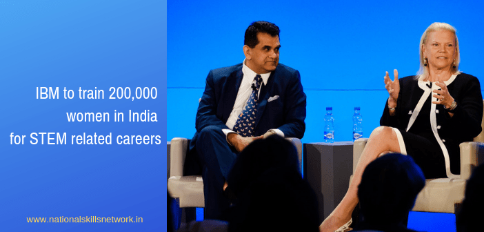 IBM announces collaborations across India to train 2,00,000 women for STEM related careers