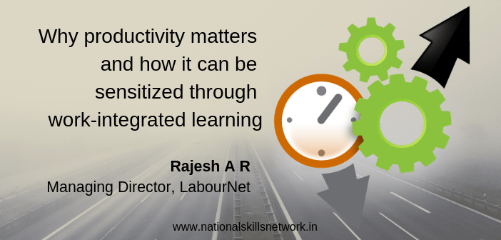 Productivity and work integrated learning