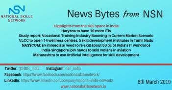 Skill development news 08 March 2019