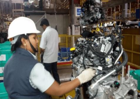 Tata Motors' skill development automotive sector empowering young girls