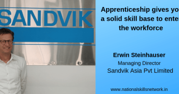 Apprenticeship gives you a solid skill base to enter the workforce