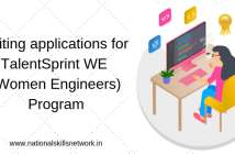 TalentSprint WE (Women Engineers) Program