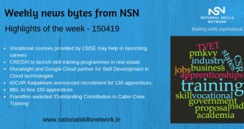 skill development news bytes 150419