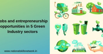 Jobs and entrepreneurship in green industry sectors