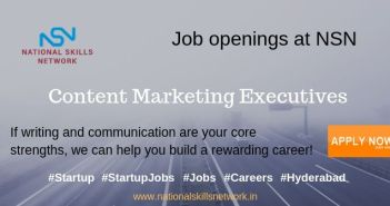 Job openings at NSN - Content Marketing Executives