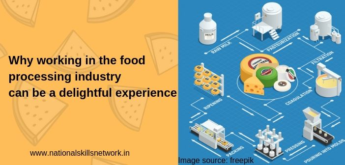 Why working in the food industry can be a delightful experience
