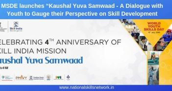 MSDE launches Kaushal Yuva Samwaad