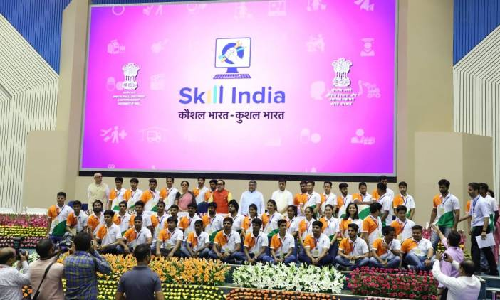 Skill India 4 years celebrations - World Skills Team