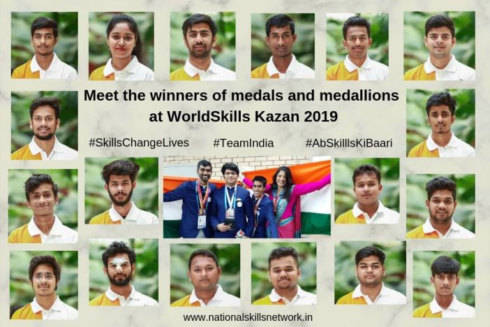 Meet the Indian team that won medals and medallions at WorldSkills Kazan 2019